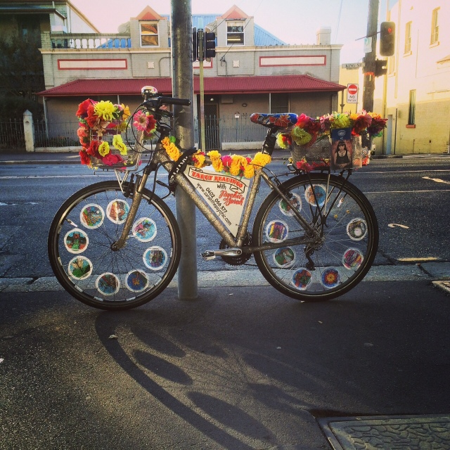 Psychic Sarah Tarot Bike