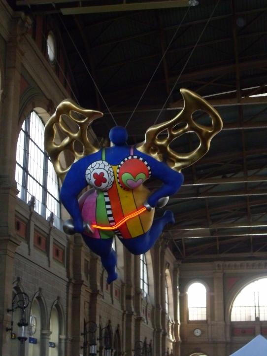 Temperance by Niki de Saint Phalle - Zurich Station