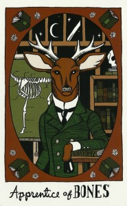 Apprentice of Bones - The Collective Tarot, by the Tarot Collective