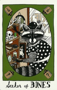 Seeker of Bones - The Collective Tarot, by the Tarot Collective
