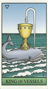King of Vessels - Alchemical Tarot by Robert M. Place