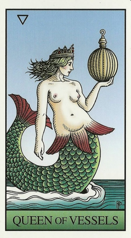 Queen of Vessels - Alchemical Tarot by Robert M. Place