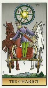The Chariot - Alchemical Tarot by Robert M. Place
