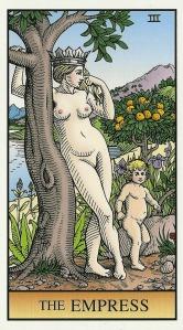 The Empress - Alchemical Tarot by Robert M. Place