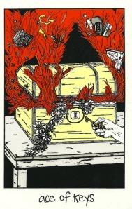 Ace of Keys - Collective Tarot