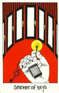 Seeker of Keys - Collective Tarot