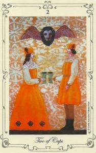2 of Cups - Stella's Tarot by Stella Kaoruko & Takako Hoei