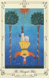 The Hanged Man - Stella's Tarot by Stella Kaoruko & Takako Hoei