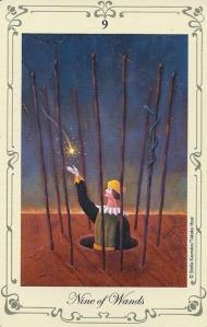 9 of Wands - Stella's Tarot by Stella Kaoruko & Takako Hoei.jpg