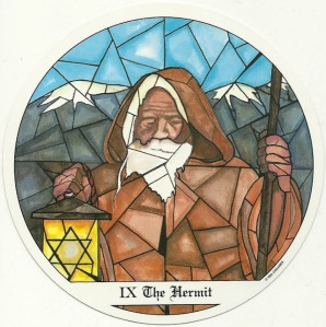 The Hermit - Tarot of the Cloisters by Michelle Leavitt