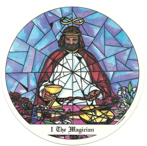 The Magician - Tarot of the Cloisters by Michelle Leavitt