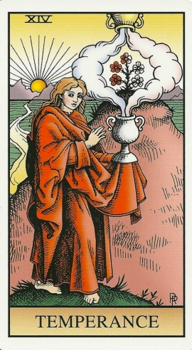 Temperance - Alchemical Tarot Renewed by Robert M. Place