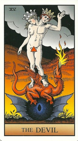 The Devil - Alchemical Tarot Renewed by Robert M. Place