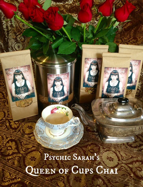 Psychic Sarah's Queen of Cups Chai I