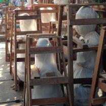 Buddha statues ready to be shipped, Yangon