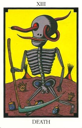 Death - Tarot 22 by Toshiko Tuchihashi