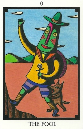 The Fool - Tarot 22 by Toshiko Tuchihashi
