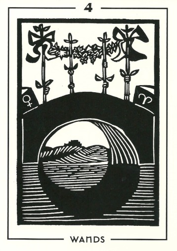 From The Light and Shadow Tarot by Michael Goepferd and Brian Williams