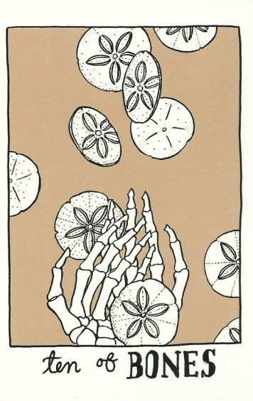 Ten of Bones (Pentacles) - The Collective Tarot by The Tarot Collective