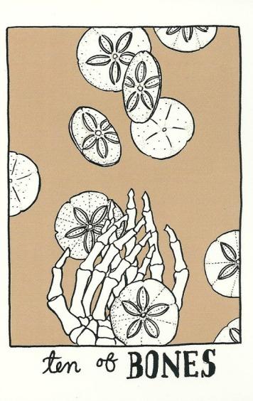 Ten of Bones (Pentacles) - The Collective Tarot by The Tarot Collective