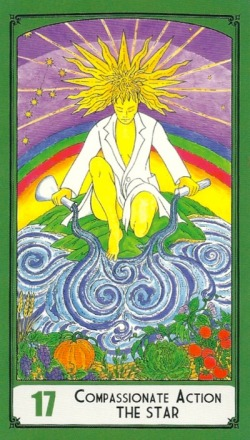 Compassionate Action - The Star - Science Tarot