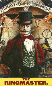 The Ringmaster (The Hierophant) - Tarot of the Zirkus Magi by Douglas Thornsjo