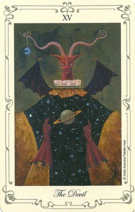 The Devil - Stella's Tarot by Stella Kaoruko & Takako Hoei