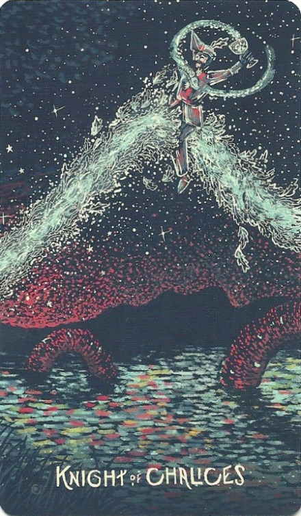 from Prisma Visions Tarot by James R. Eads