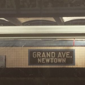 My first photo in NYC! Ah, Newtown, but a Newtown so very far away from home.