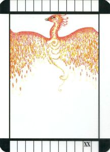 Judgment - Transparent Tarot by Emily Carding