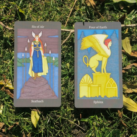 from Dark Goddess Tarot by Ellen Lorenzi-Prince