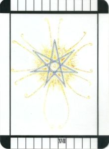 The Star - Transparent Tarot by Emily Carding