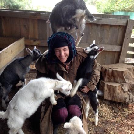 Psychic Sarah & Baby Goats 2