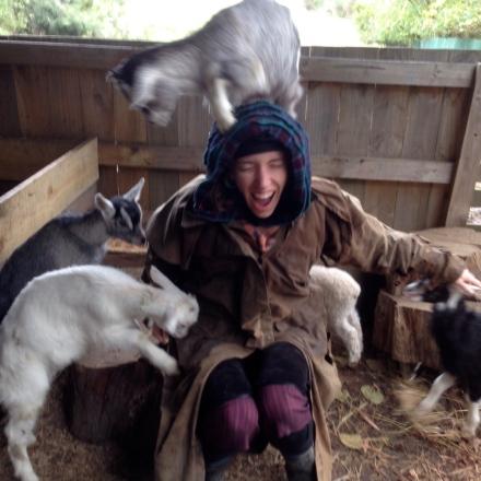Psychic Sarah & Baby Goats 3