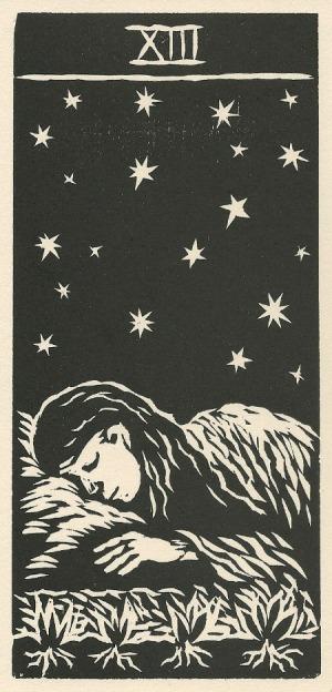 Death - Los 22 Arcanos del Tarot by Gloria Calderon