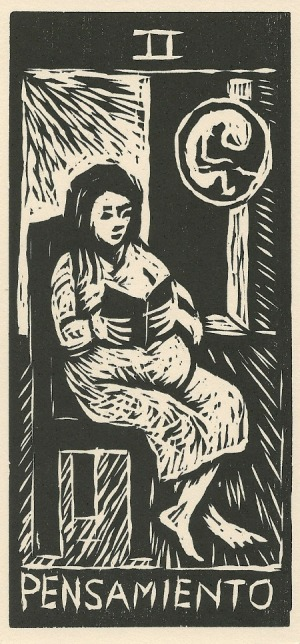 High Priestess - Los 22 Arcanos del Tarot by Gloria Calderon