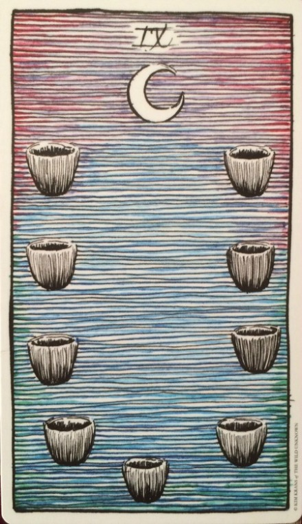 Nine of Cups - The Wild Unknown by Kim Krans