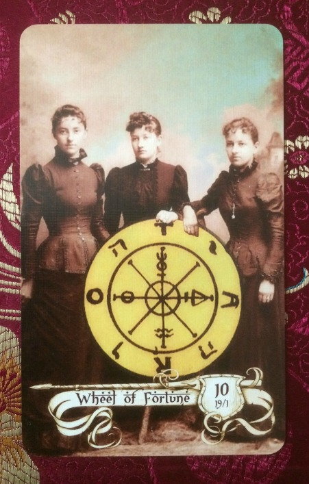 Wheel of Fortune - Relative Tarot by Carrie Paris