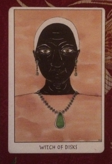 Witch of Disks - Tarot of the Crone by Ellen Lorenzi-Prince
