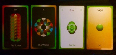 The Orbifold Tarot by Michael Bridge-Dickson