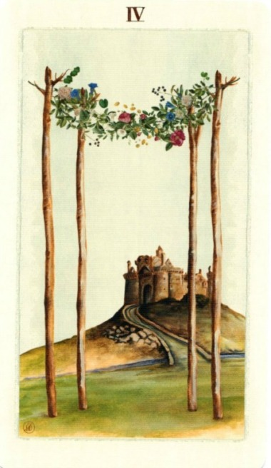 four-of-wands-pagan-otherworlds-tarot-by-uusi