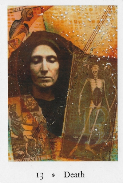 Death - Pentimento Tarot by Joanna Powell Colbert