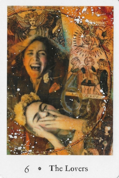 The Lovers - Pentimento Tarot by Joanna Powell Colbert