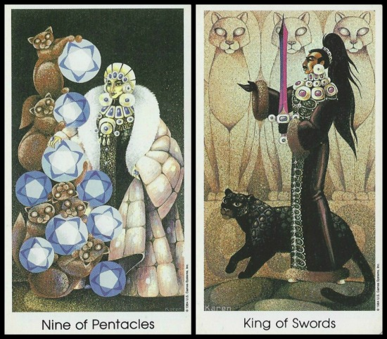 Tarot of the Cat People by Karen Kuykendall.jpg