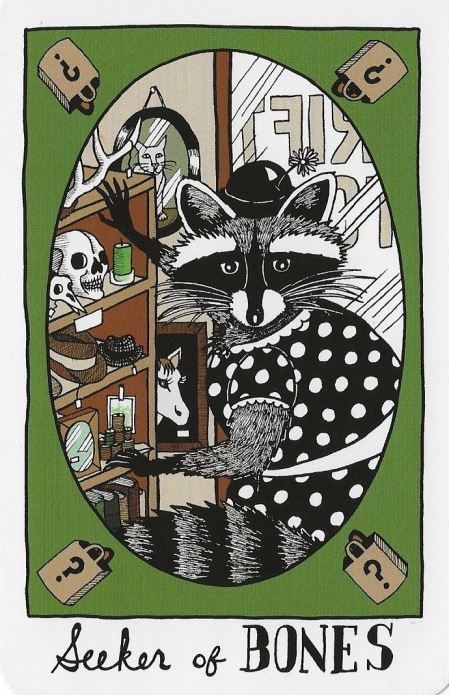 Seeker of Bones - The Collective Tarot by the Tarot Collective