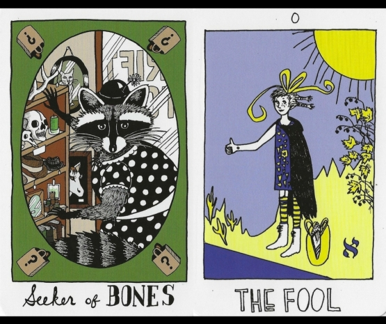 Seeker of Bones & The Fool - The Collective Tarot by the Tarot Collective