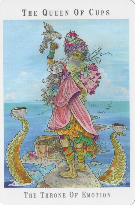 Queen of Cups - Next World Tarot by Cristy C. Road.jpg