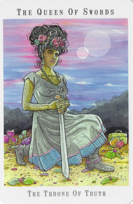 Queen of Swords - Next World Tarot by Cristy C. Road.jpg
