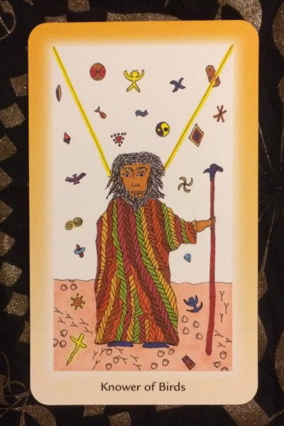 Knower of Birds - Shining Tribe Tarot by Rachel Pollack