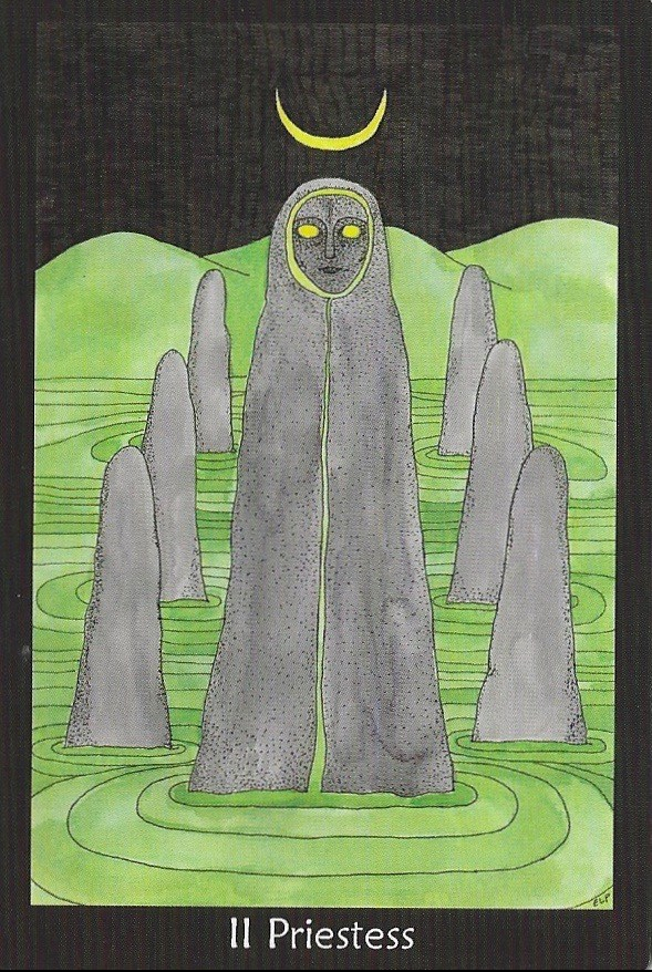 Priestess - Tarot of the Crone by Ellen Lorenzi-Prince